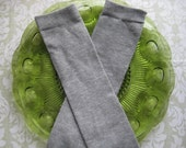 Baby Leg Warmers-Solida LIght Grey - CHOOSE YOUR SIZE