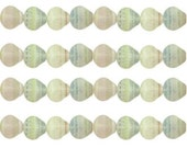 Scallop Shell Beads Imperial Venus made of Czech Glass 9mm Strand of 25