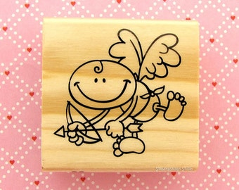 Rubber Stamp - CUPID