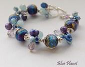 Blue Planet Bracelet - RESERVED