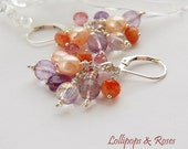 Lollipops And Roses Earrings