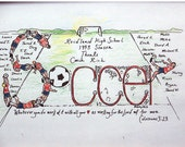 Soccer coach team names colors added personalized appreciation banquet