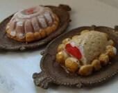 DollHouse Miniatures Thanksgiving Dinner Turkey and Gel Mold