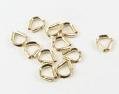 Gold Filled 14kt Wire Guardians up to 0.018 inch 0.47mm wire (10 pieces)