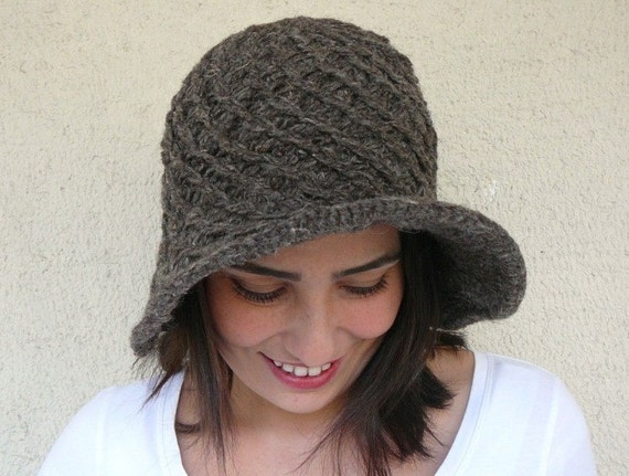Wool Playful Hat - Taupe