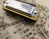 Little Lady Miniature Harmonica Necklace