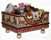 Kitty Toy Box
