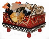 Doggie Toy Box Red Bones by Jakey BB