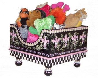 Je t'aime Pet Toy Box by Jakey BB