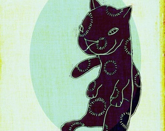 Psychedelic Kitty (No. 1 Black)
