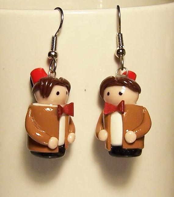 Doctor Who 11th Doctor earrings