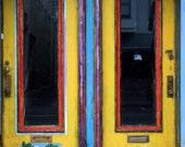 Chinatown Doorway GREETING CARD
