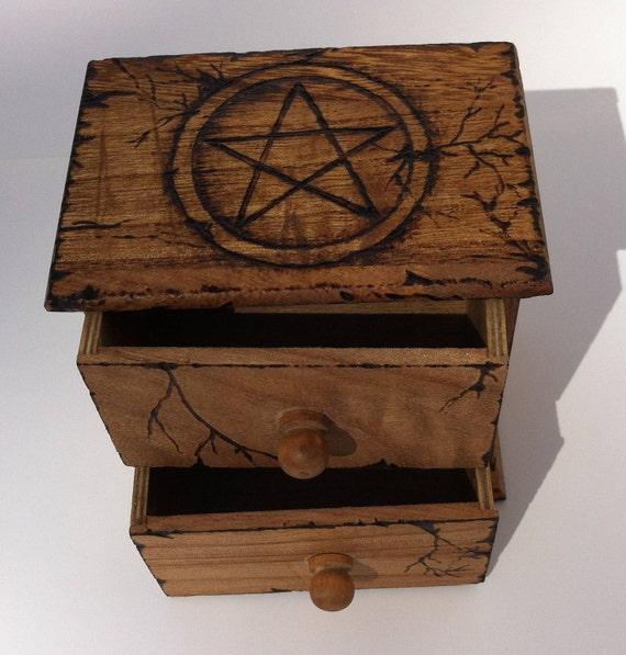 Magick Mini Dresser (The Pentacle Series)