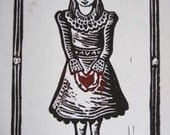 Queen of Hearts-Set of 6 Cards