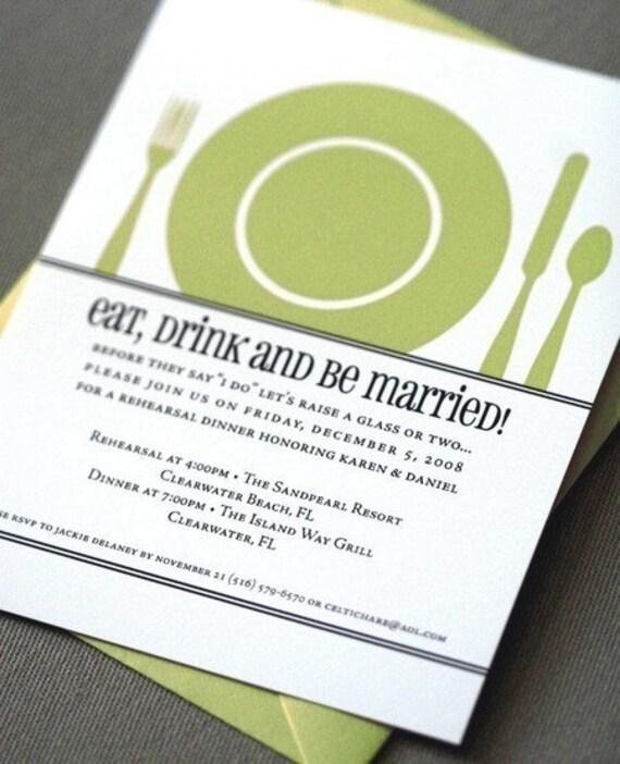 The Plate Invitation