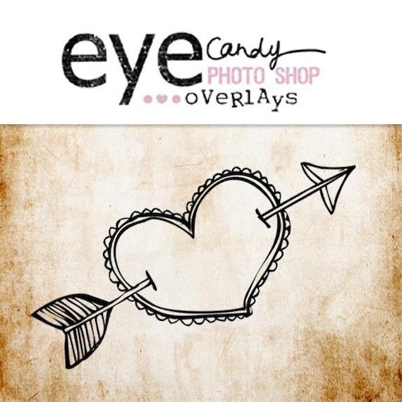 Eye Candy Photoshop Overlays- Be Mine