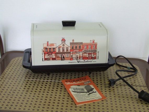 Vintage Presto Wee Bakerie Oven Countertop Stove Electric Camper ...