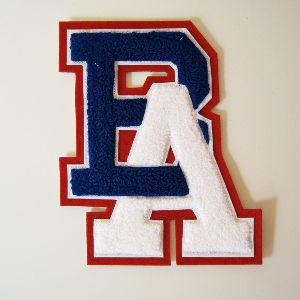 letter jacket patches letters ba vintage letter jacket patch 350
