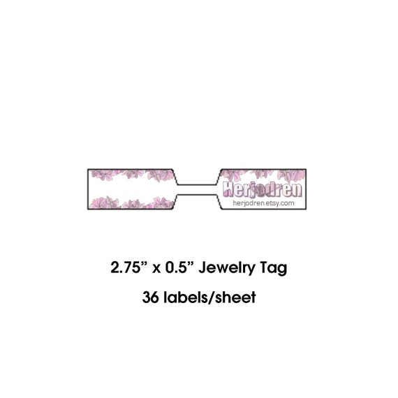 Items Similar To CUSTOM BARBELL STICKERS (JEWELRY LABELS