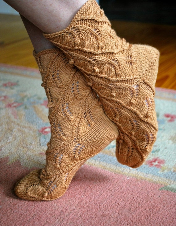 Spiral Socks Knitting Pattern : Items similar to Knitting pattern PDF socks
