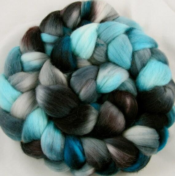 Merino Hand Painted  Wool Roving - Retro