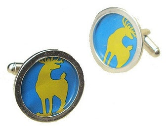 Old Dominion cuff links for Birthdays, or Fathers Day