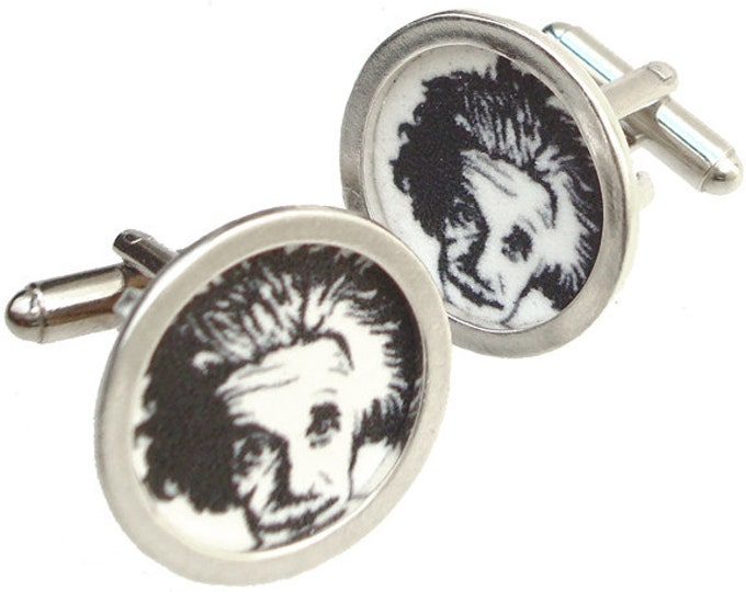 Einstein/Custom image cufflinks