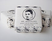 Naked Mr. Mustachio Shea Butter Shaving Soap