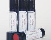 Shea Butter Lip Tint & Moisturizing Gloss - POPPY