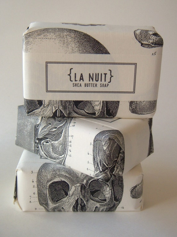 NEW - Large Size - La Nuit Shea Butter Soap - by Sweet Petula - sexy sultry scent