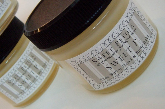 Shea Butter Moisturizer in our Signature Scent Sweet P.