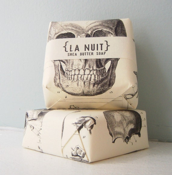 La Nuit Shea Butter Soap - by Sweet Petula - sexy sultry scent