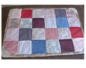 Crib Quilt in Pink