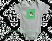 Baby Onesie-Alphabet Animals w/Background Baby Onezeee Bodysuit - You pick the letter - (You pick the size)-Baby Gift