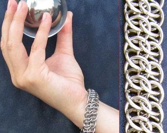 Bracelet - Steel GSG - Metal Chainmaille Jewelry