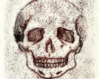 Calaca III - Original Monoprint