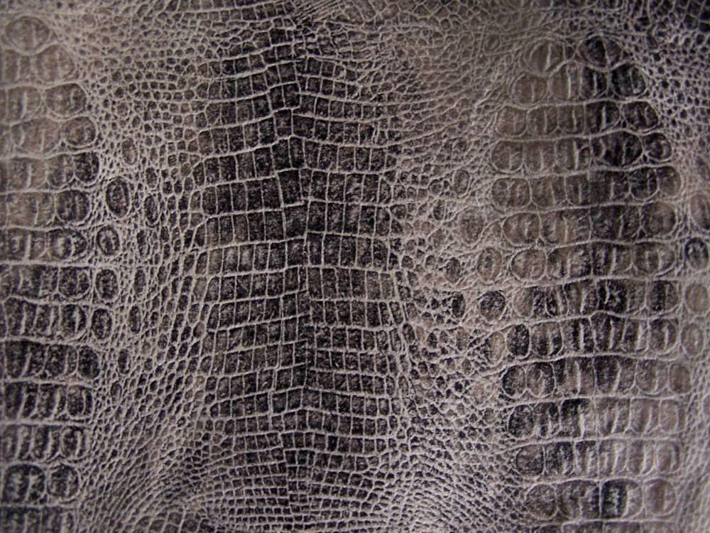 1/4Y Unique Alligator Skin Pattern Fabric58/148cm by iwawa on Etsy