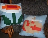 Fire Power Fleece Pillow Set