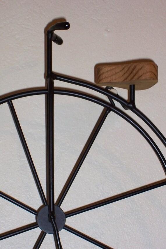 Wrought Iron Victorian Bike Wall Decor