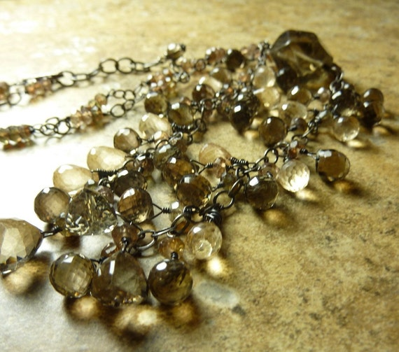 SALE Smoke and Mirrors Necklace