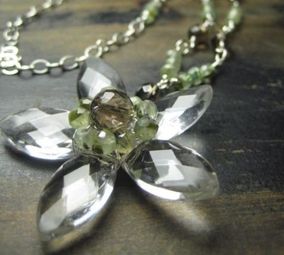 Blooming Crystal Necklace
