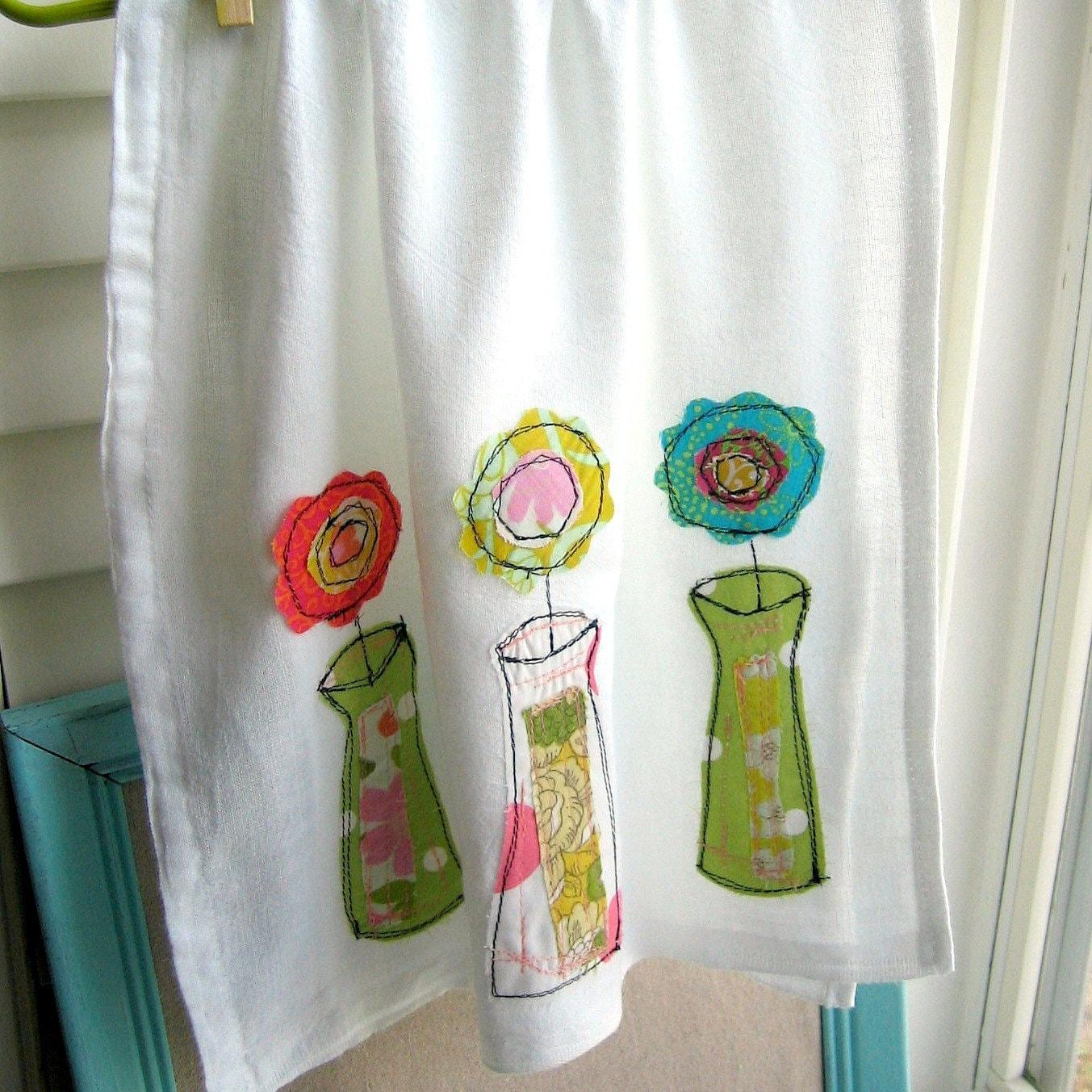 Flour Sack Dish Towel Kitchen Towel Tea Towel Dish Cloth