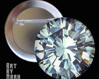 MEGA Diamond  1.25 inch - Pinback Button