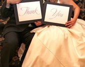 Custom Wedding Thank You Signs