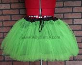 Green radioactive tutu