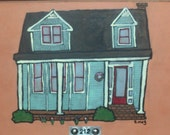 Your Perfectly Imperfect House - custom original
