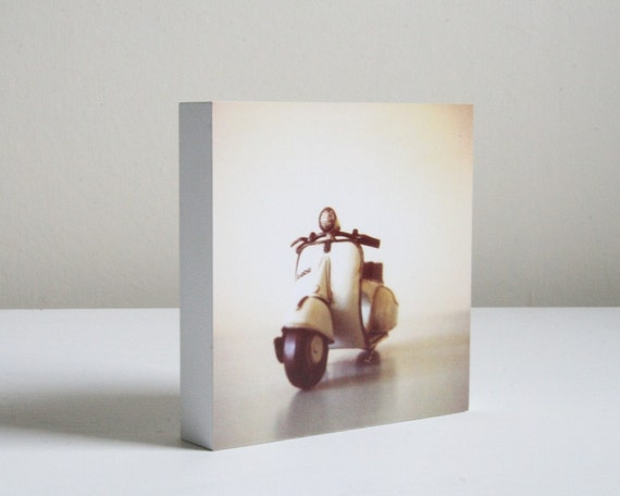 The Scooter - photo block