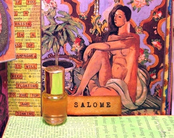 Salome Perfume Oil - I heard in the palace the beating of wings