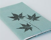 mist japanese maple notebook cover