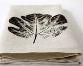 oatmeal fig towel